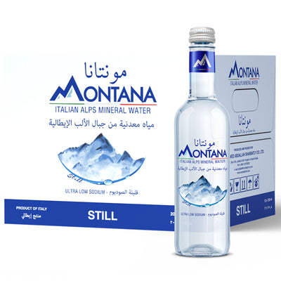20x0.375L Montana Still Glass - Montana Water