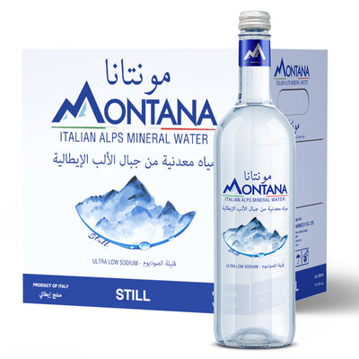 12x0.75L Montana Still    Glass - Montana Water