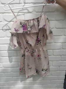 Floral Off the should Romper ($42) Coast Fashion
