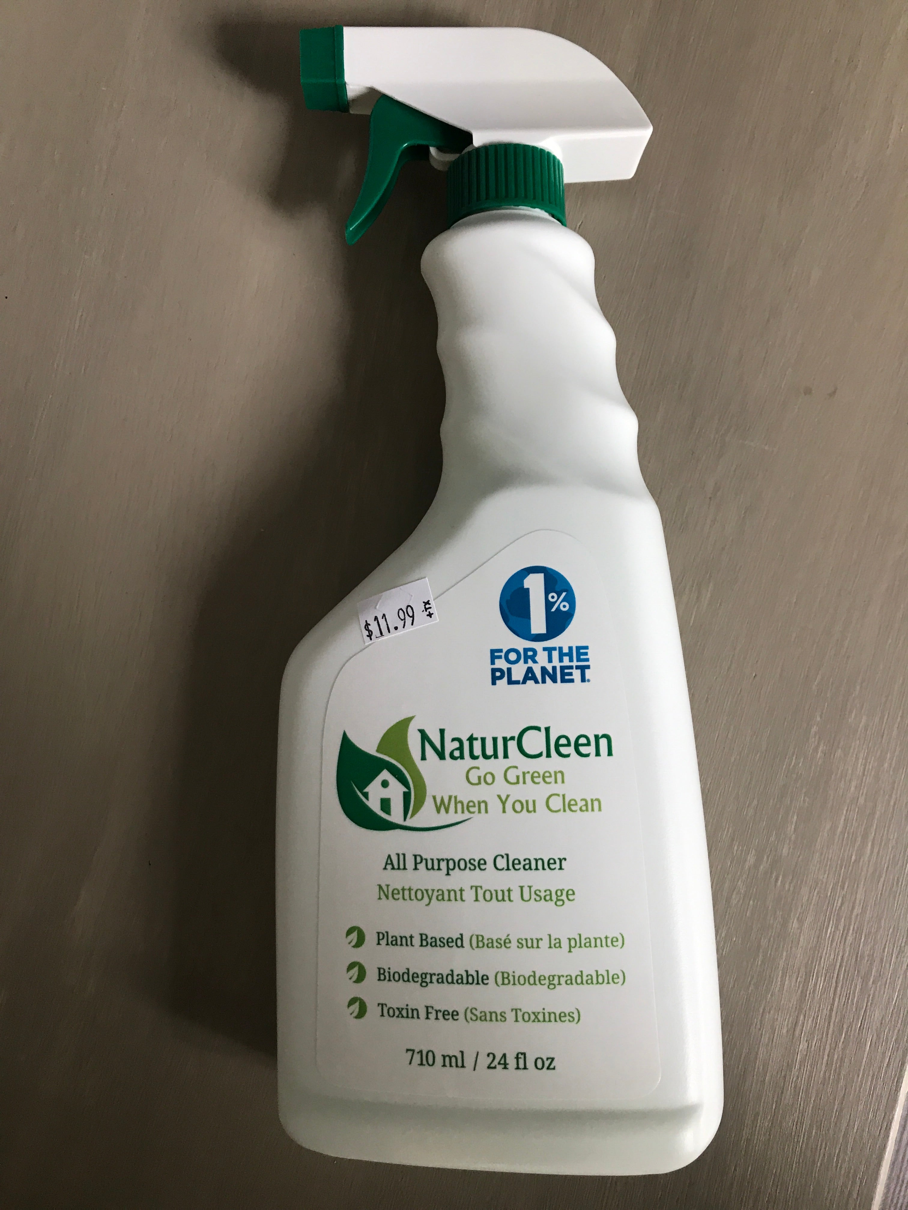All Purpose Cleaner ($11.49) - Nature Clean (BK Naturals)