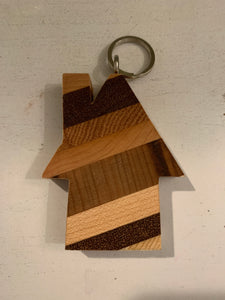 Wooden House Keychain ($8) Bob's Your Uncle