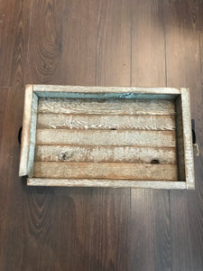 Large wooden tray (rustica)