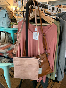 Crossbody purse ($62) S + Q