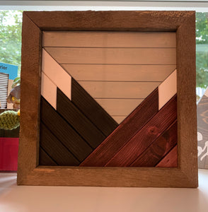 Mountains ($35) Steele Wood Designs