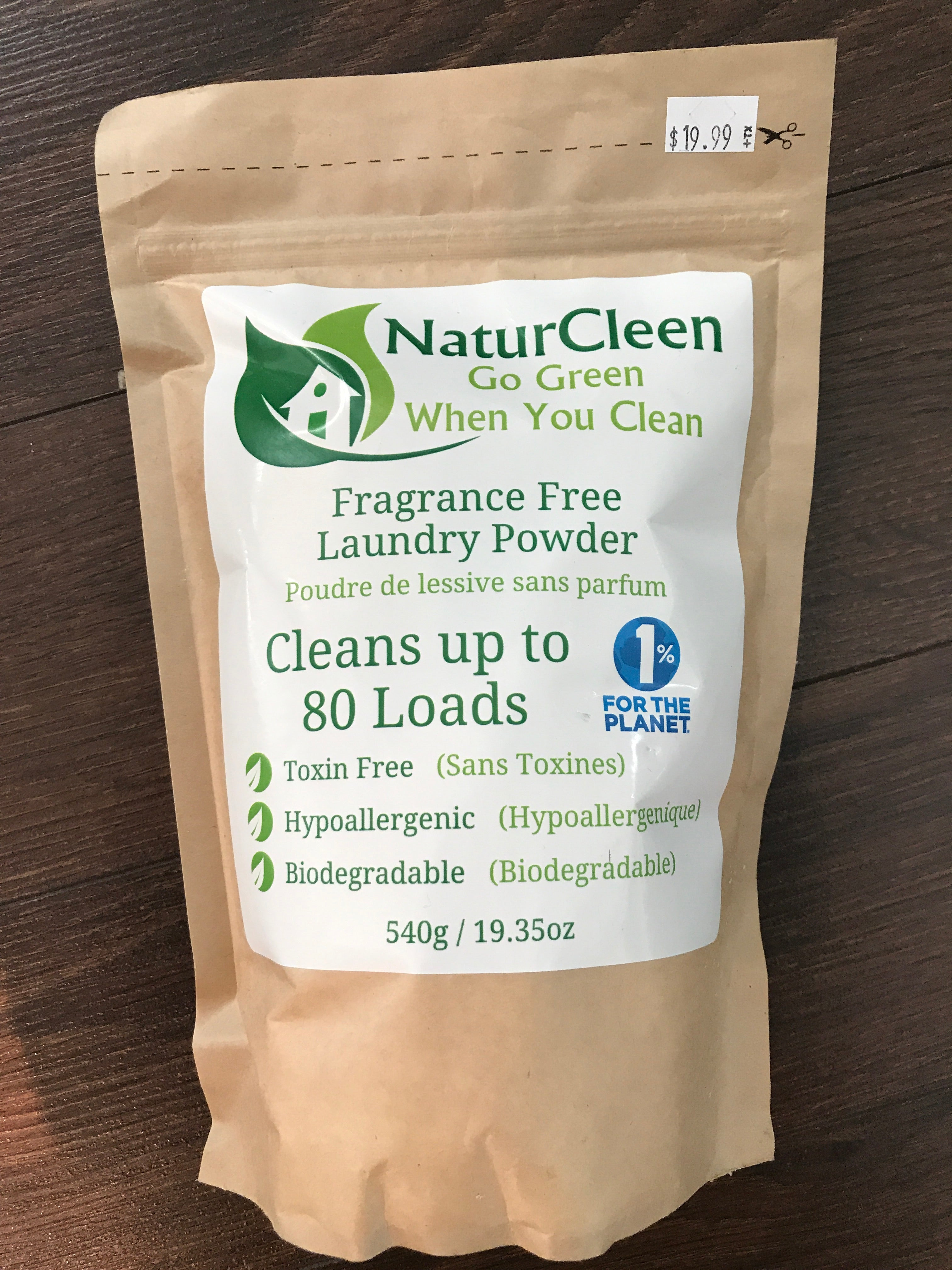 Laundry Powder(19.99) BK Natural