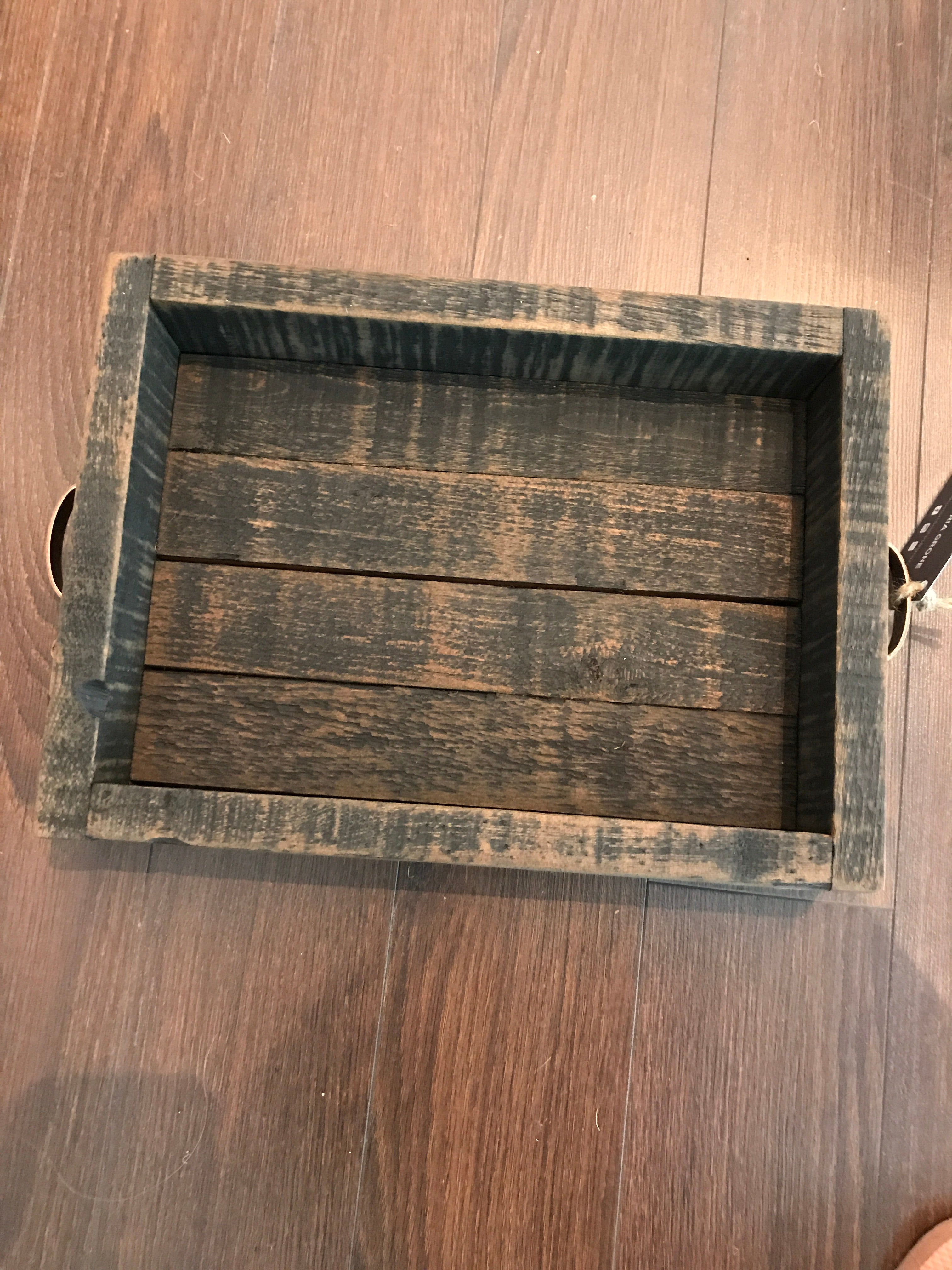 Small wooden tray (rustica)