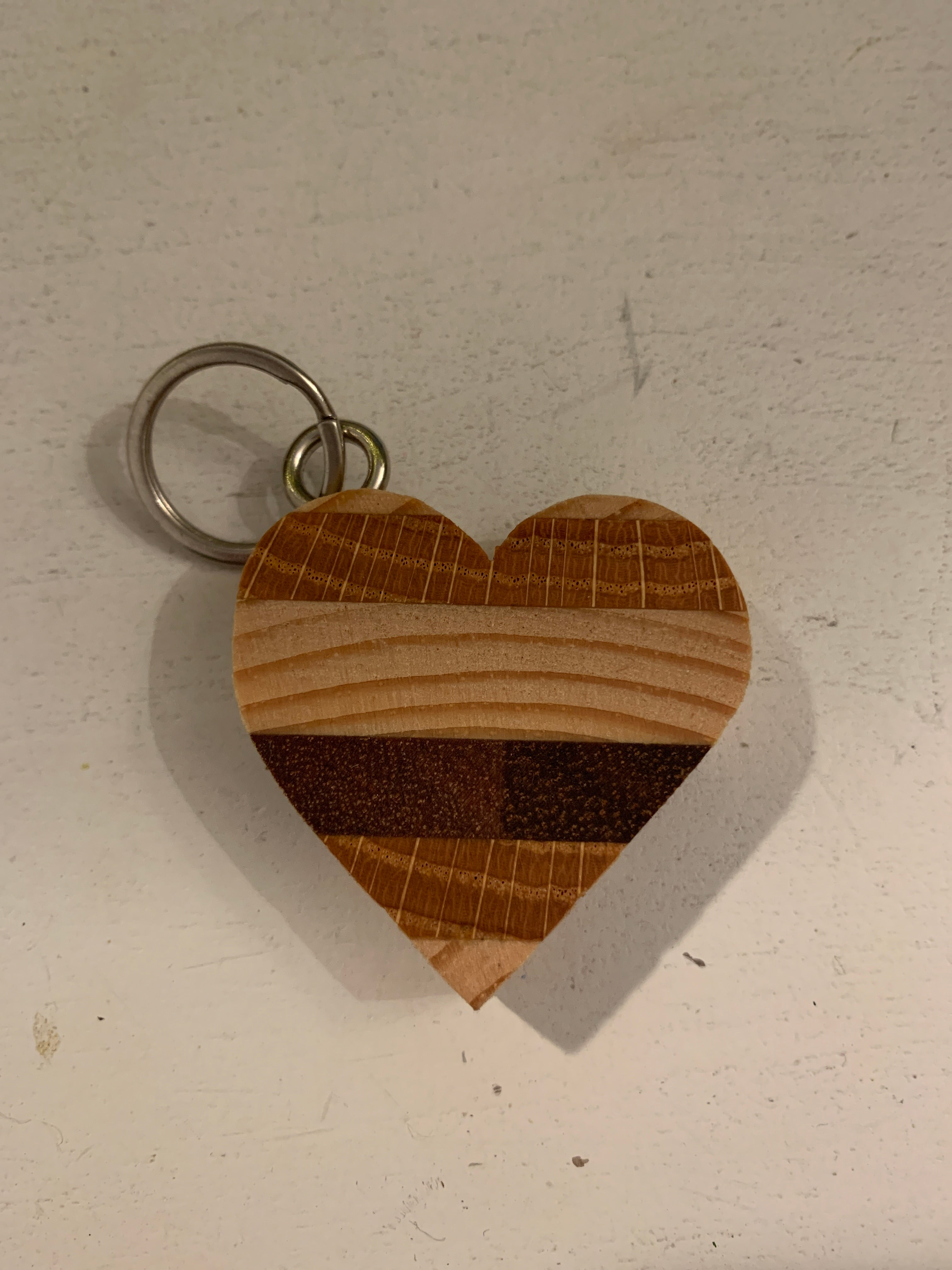 Wooden Heart Keychain ($8) Bob's your Uncle
