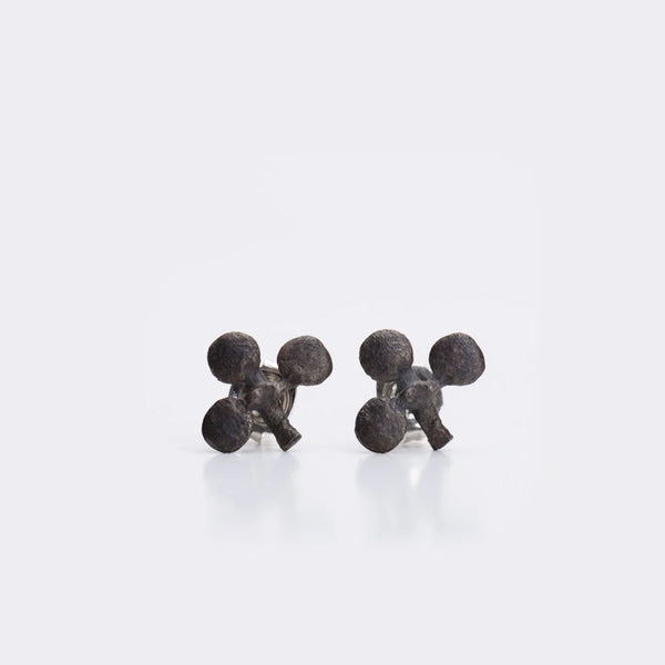 Club stud earrings by Hannah Upritchard