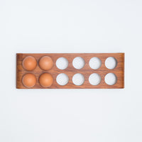 Egg holder made in Christchurch, Aotearoa