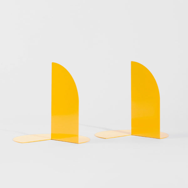 Pair of folded bookends made by Habitual Goods in Christchurch, New Zealand