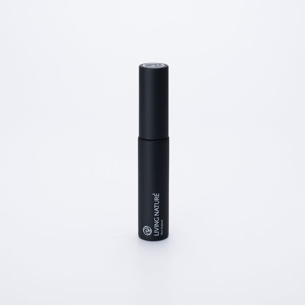 Living Nature Jet Black mascara, made in Kerikeri, Aotearoa