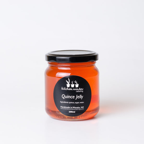 Quince jelly made in Wanaka, Aotearoa