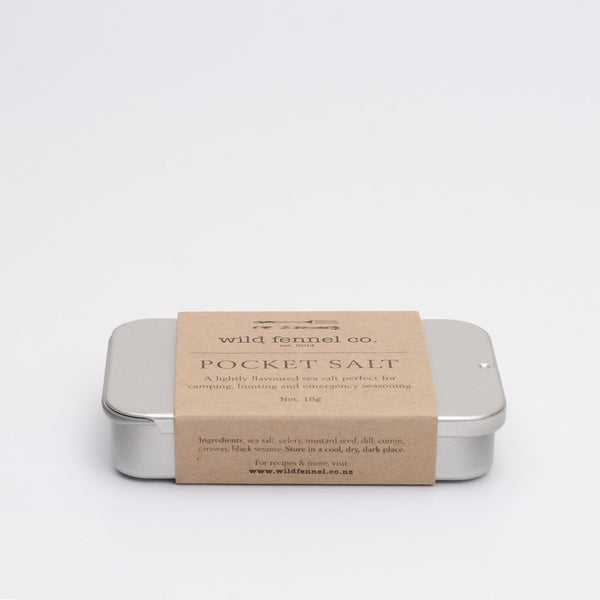 Pocket salt made in Dunedin, Aotearoa