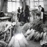 Broom production.