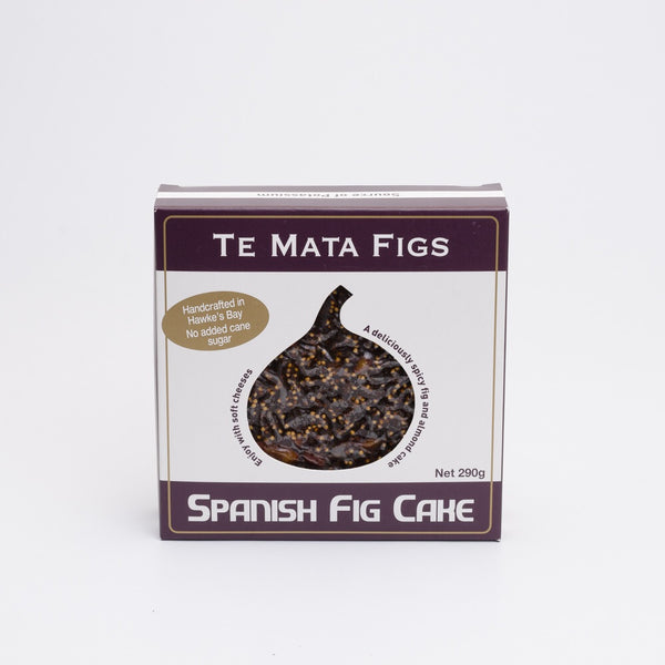 Fig cake made in Hawkes Bay, Aotearoa