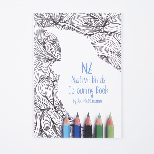Colouring Book made in Feilding, New Zealand