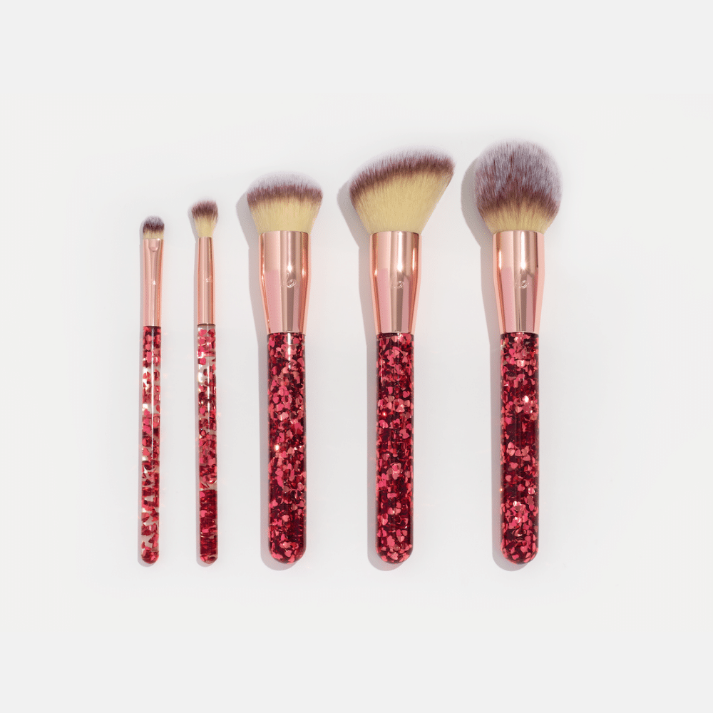 Queen of Hearts Brush Set
