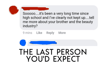 The Last Person You'd Expect
