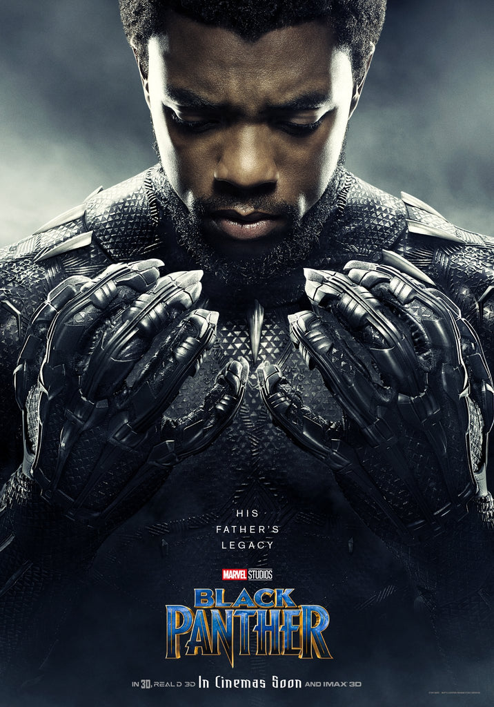 Marvel Unveils New Black Panther Posters