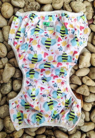 Swim Nappy- Bumble Bee