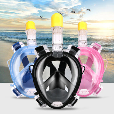 Snorkel Mask™  With Go Pro Attachment Mount