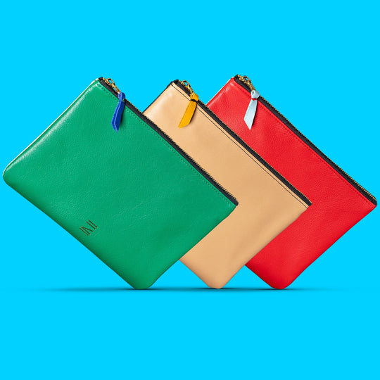Certain Standard Colorful Premium Leather Pouch