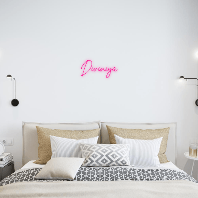 Custom Neon Sign (Create your own design)