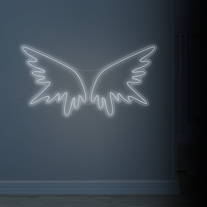 Angel Wings Neon Sign