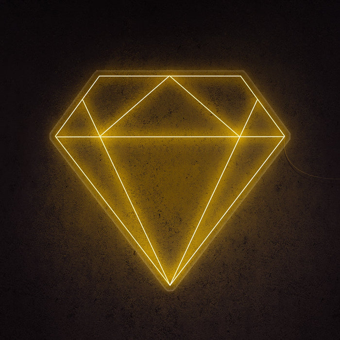 Diamond Neon Sign