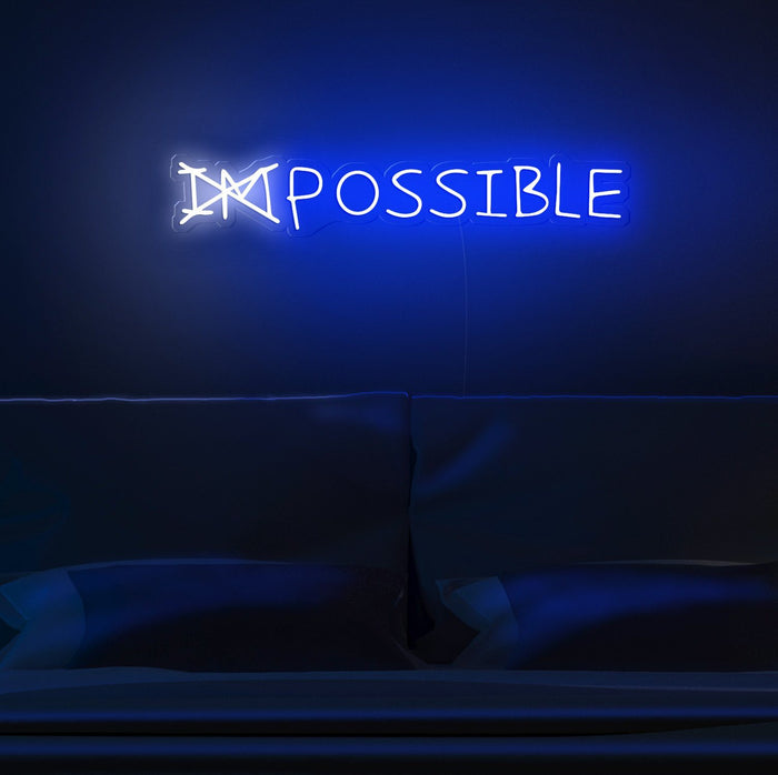 imPOSSIBLE Neon Sign