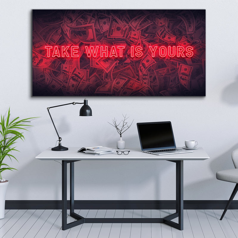 Take What Is Yours - Ruby Red