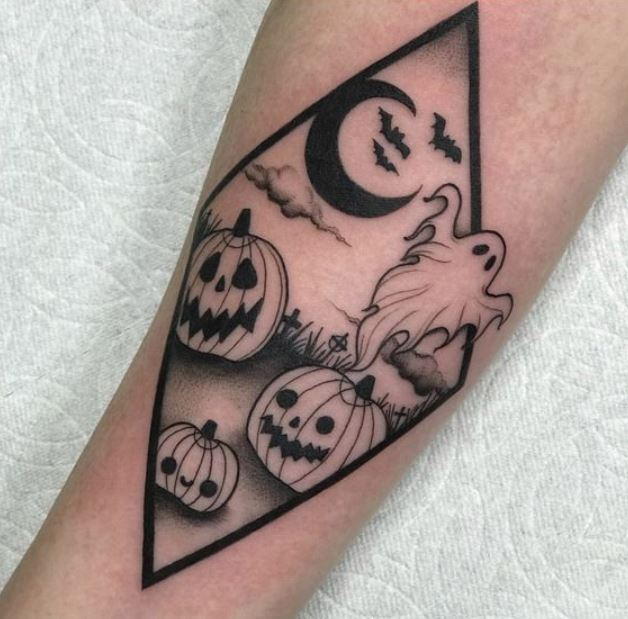 Halloween Tattoos.Halloween Tattoos To Prepare You For The Spookiest Night Of The Year Easy Ink