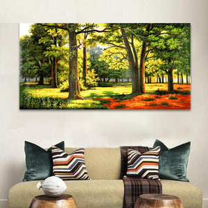 In the forest (50cm x 100cm)