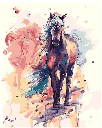 Soft painting of a Horse