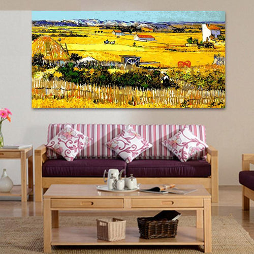 Wheat Field (50cm x 100cm)
