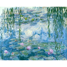Water Lilies (Blue) by Claude Monet
