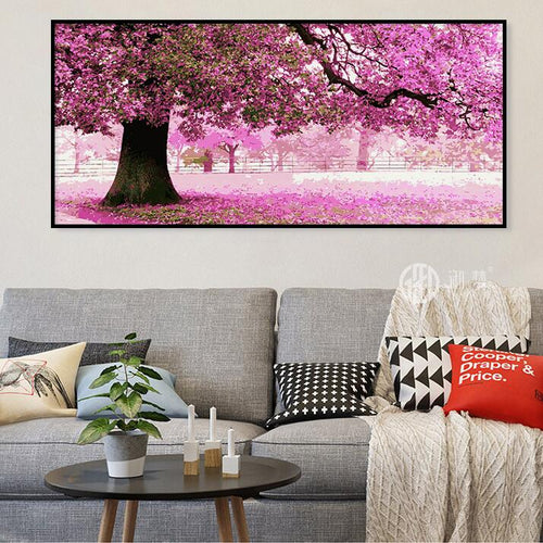 Under the Cherry Blossoms (50cm x 100cm)