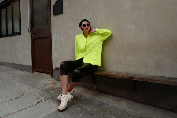 Neon Quilted Shell Jacket *BEST BUY*
