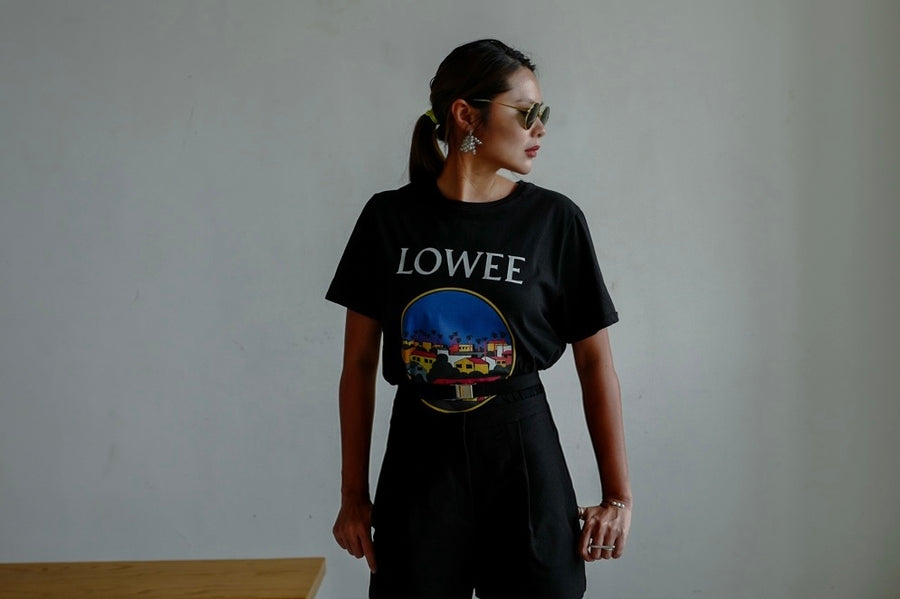 ( WHITE / BLACK ) LOWEE TEE *BEST BUY*