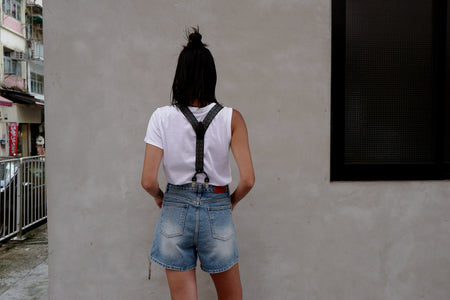 SUSPENDER DENIM SHORTS *BEST BUY*