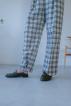 Premium Checkers Tapered Wool Pants *BEST BUY*
