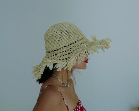 Swired Raffia Sun Hat *BEST BUY*