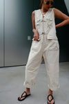 Ivory Pocket Overall *BEST BUY*