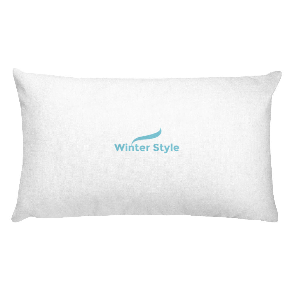 Rectangular Pillow - Winter Style