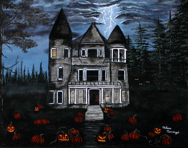 Original Halloween Art