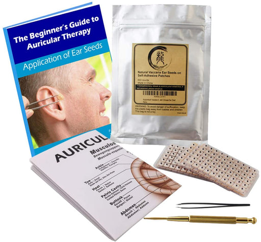 Ear Seed Kit for Multi-Conditions with Clear Placement Instructions (recommended for beginners)