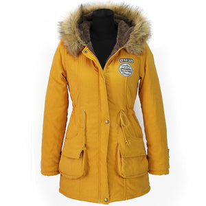 Winter Jacket For Women Cotton 2018
