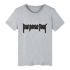 Justin Bieber Purpose Tour T-shirt