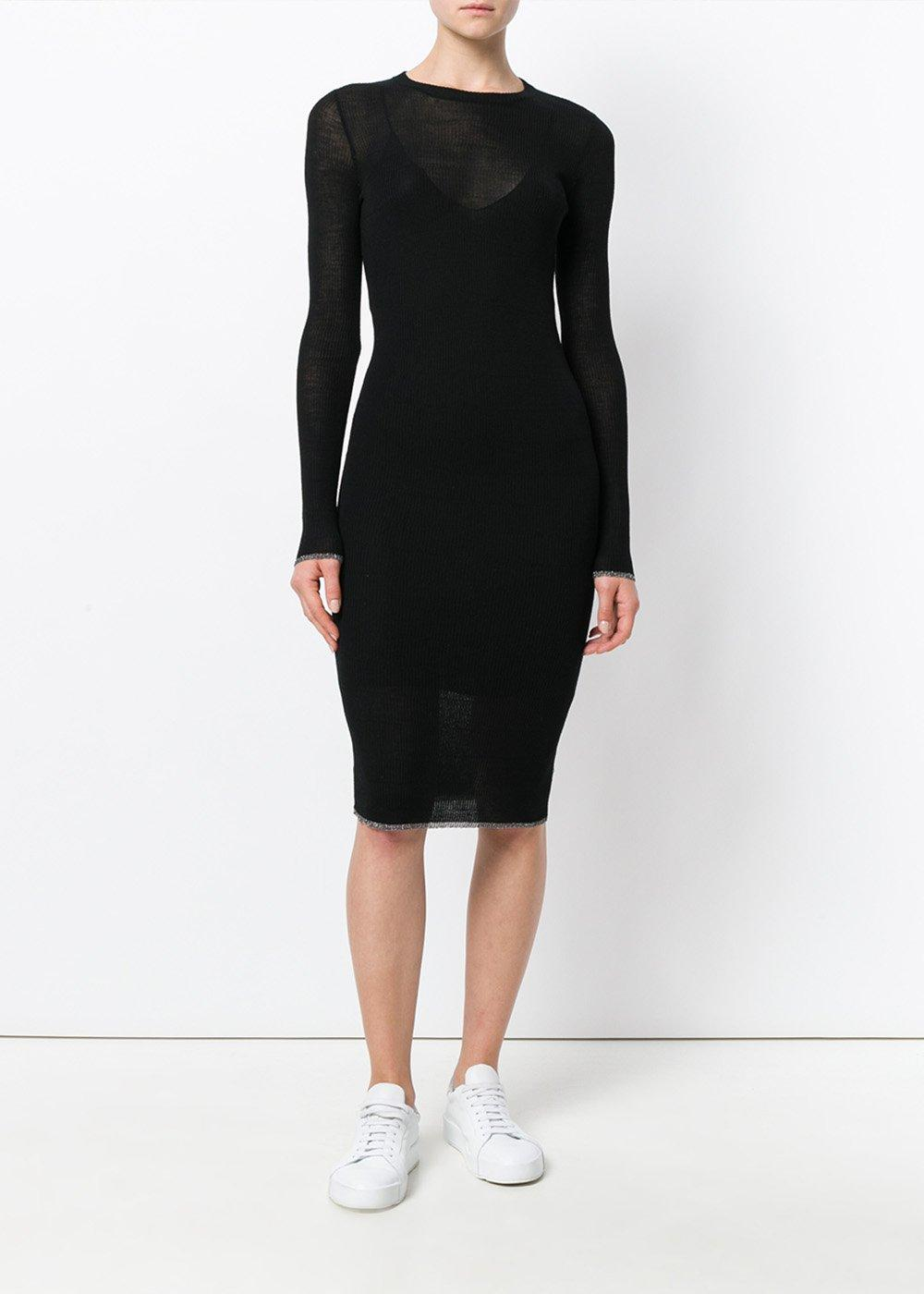 Tiera Sweater Dress - Large / Black