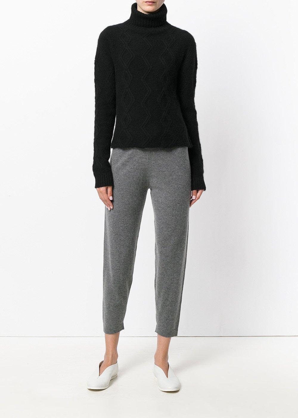 Tess Cable Knit Cropped Jumper